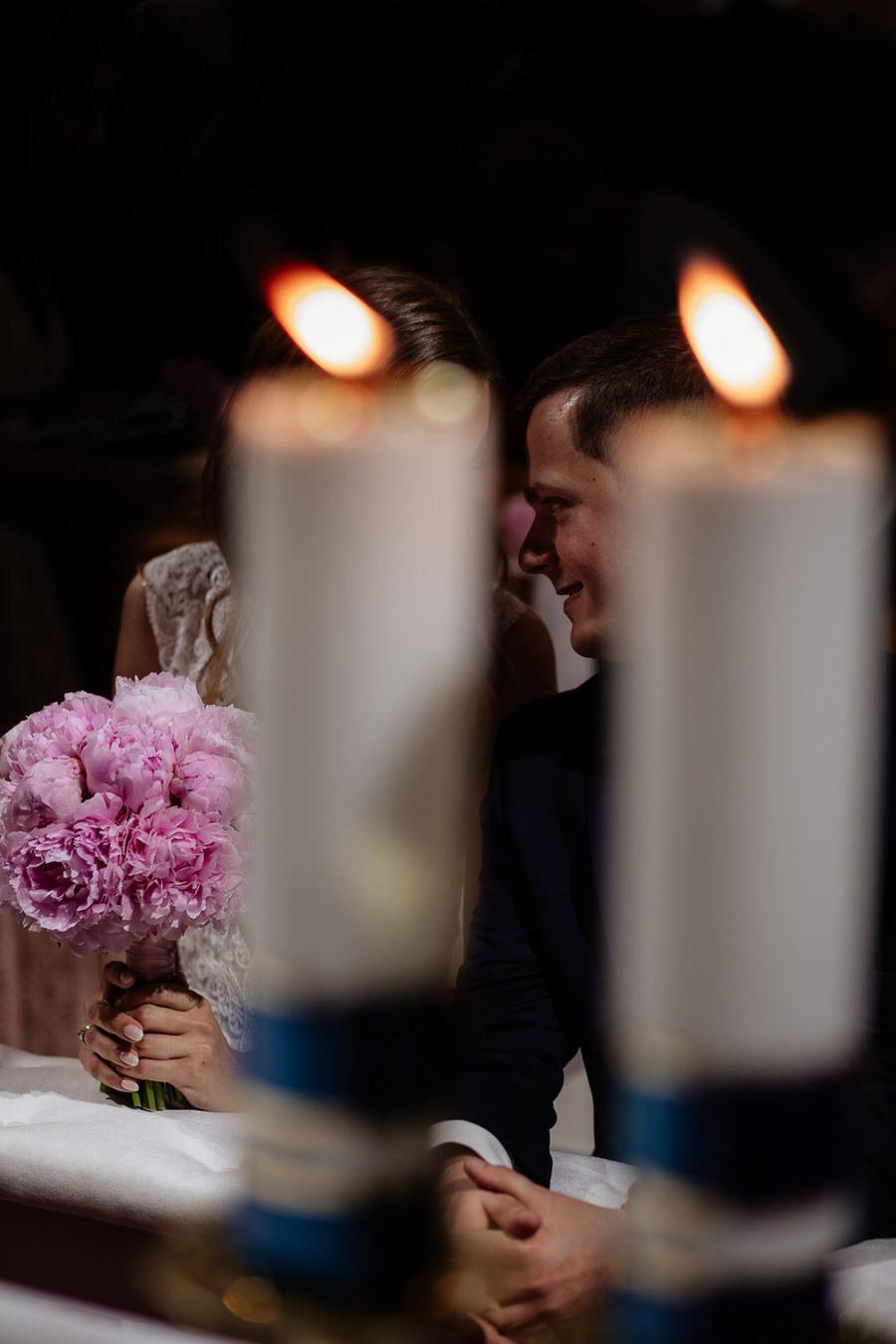 reportaż ślubny w kościele