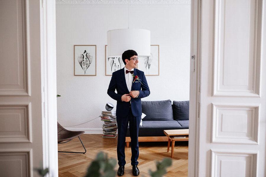Ślub w Berlinie przygotowania pana młodego