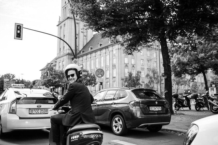 miejski ślub w Berlinie - reportaż ślubny