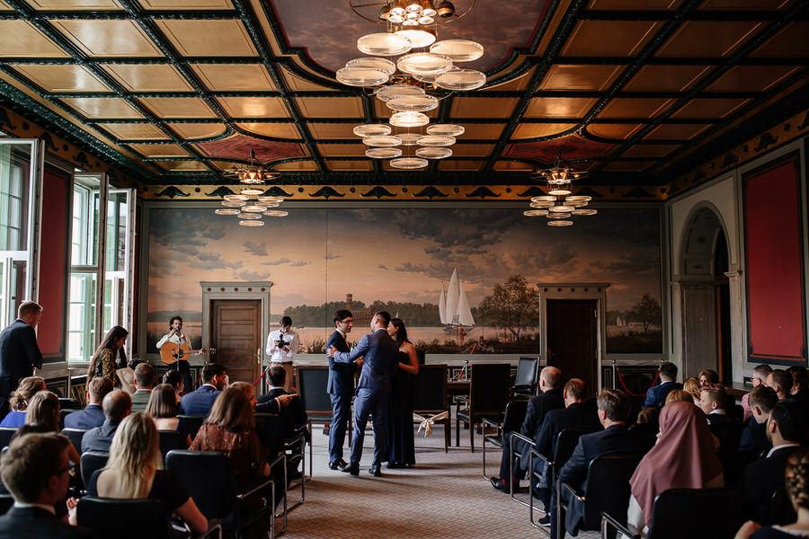 Sala ślubów w Berlinie Ratusz w Schönebergu