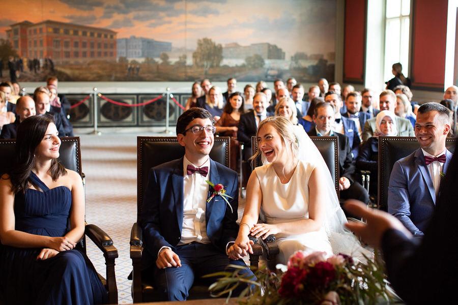 para młoda - emocje w dniu ślubu - reportaż ślubny