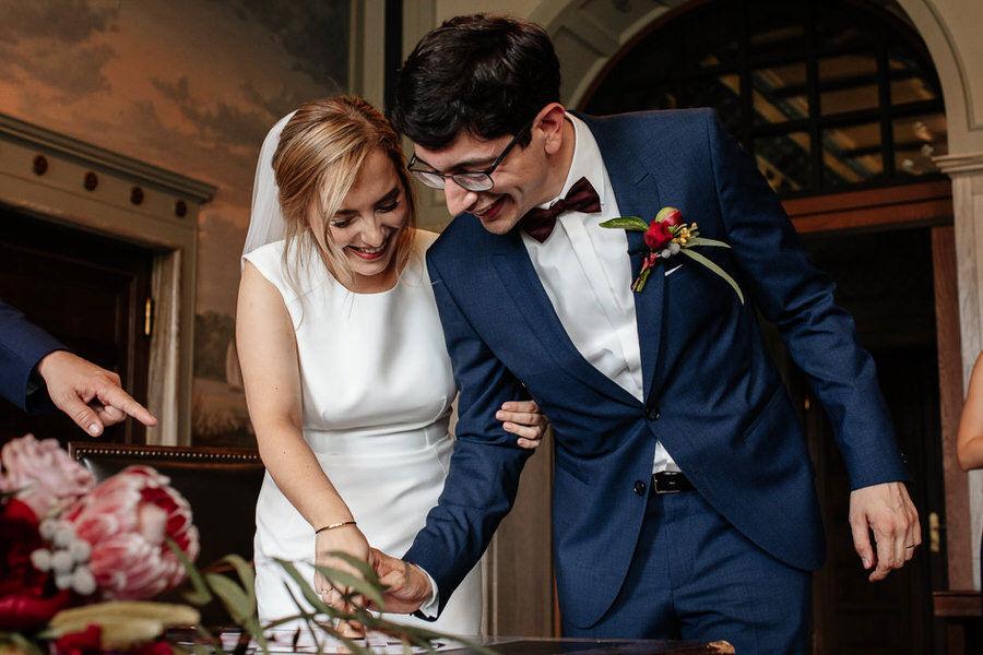 Para młoda - ceremonia ślubna w Berlinie