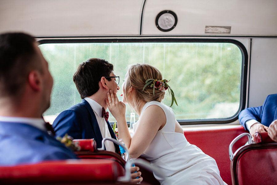 reportaż ślubny Berlin - Old Timer Bus
