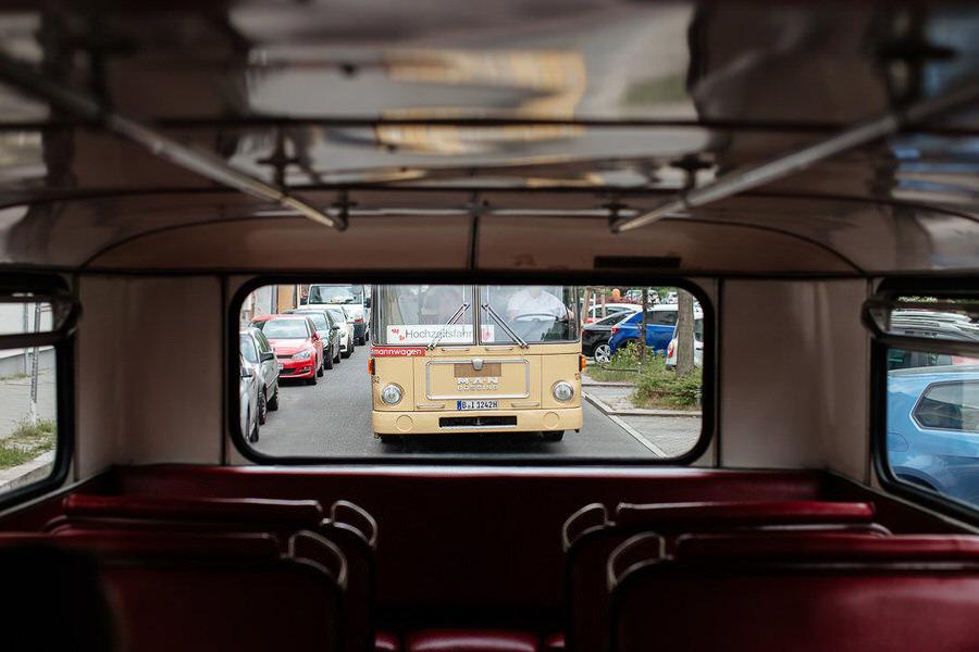 Przejazd Old Timer Busem Berlin wesele