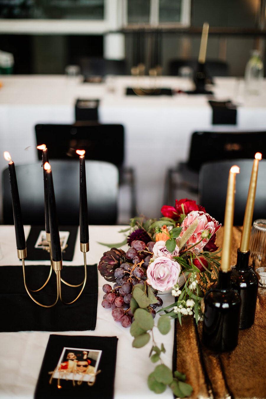 Klimatyczne dekoracje na ślub w stylu industrialnym