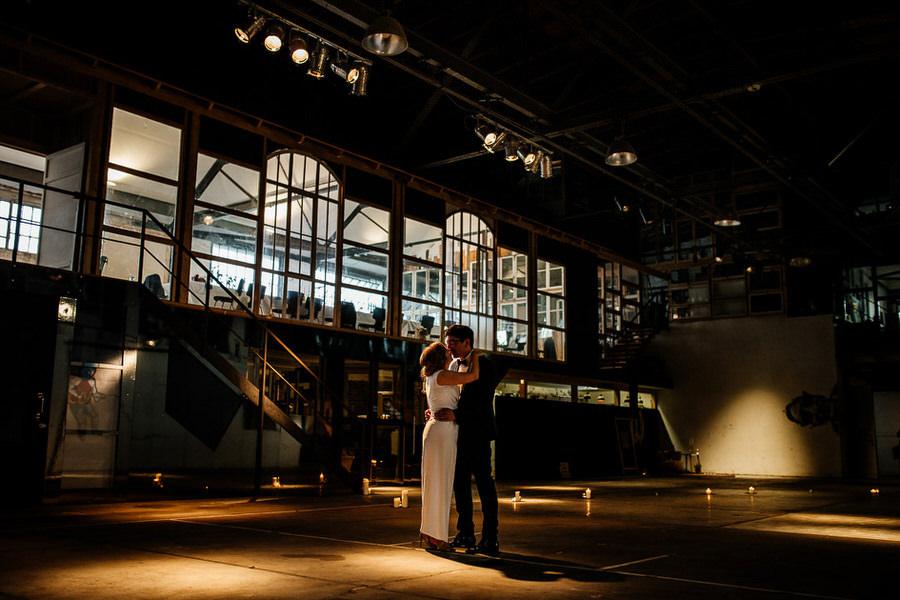 Kaos Berlin wesele w stylu industrialnym w Berlinie