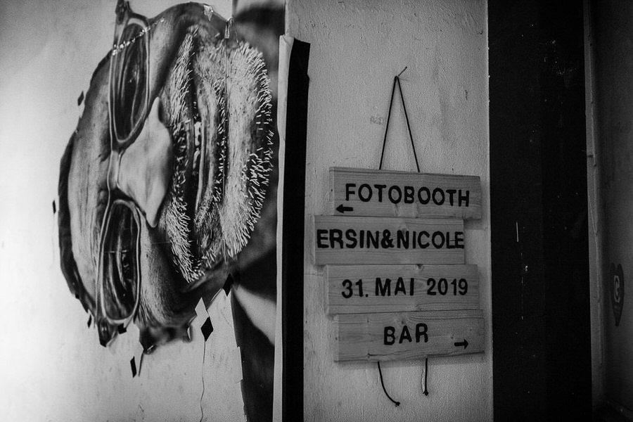 Nietypowa fotobudka w miejskim stylu Berlin