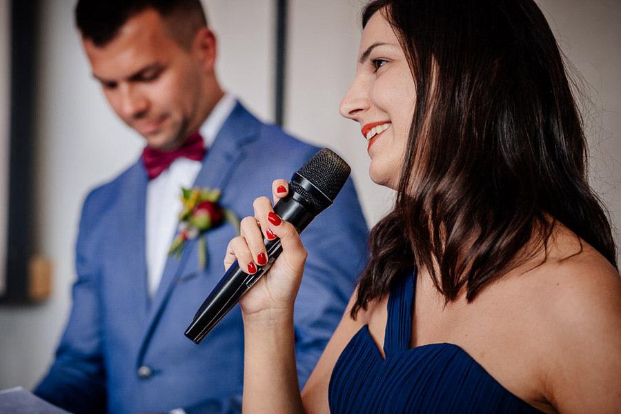 Przemowy na weselu reportaż ślubny