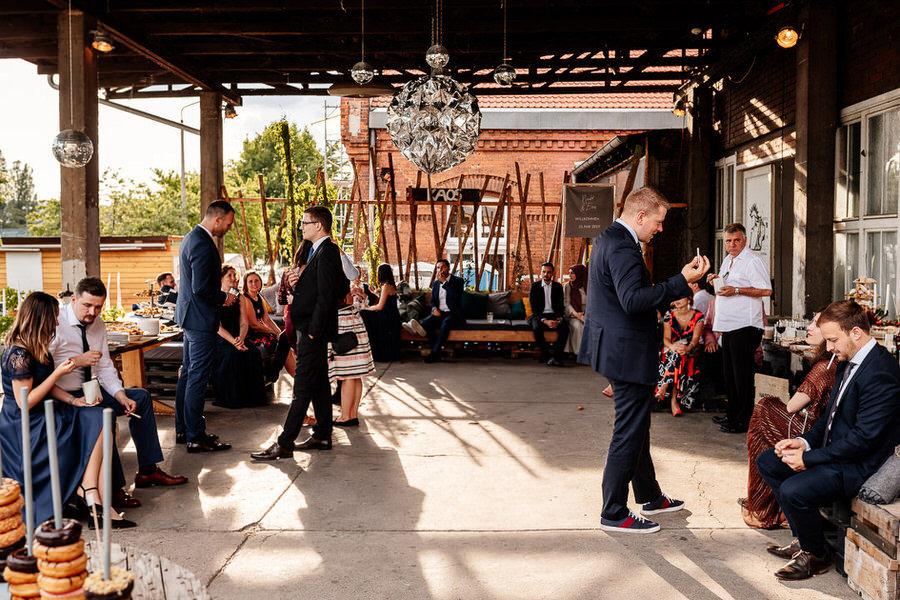 wesele w stylu industrialnym Berlinie