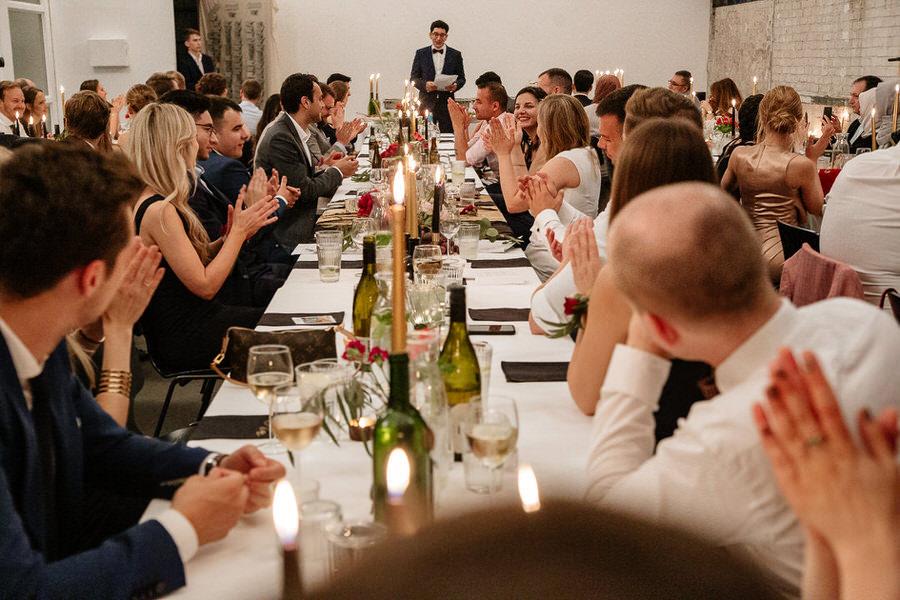 Przemowa Pana Młodego - klimatyczny ślub w Berlinie