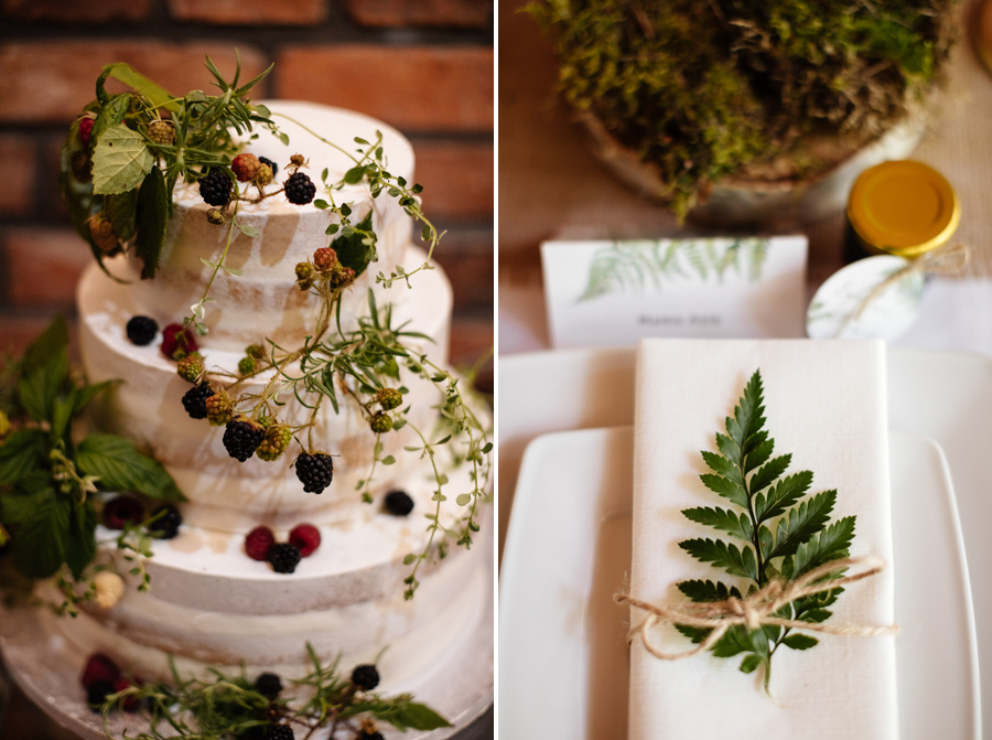 dekoracje rustykalne na ślub