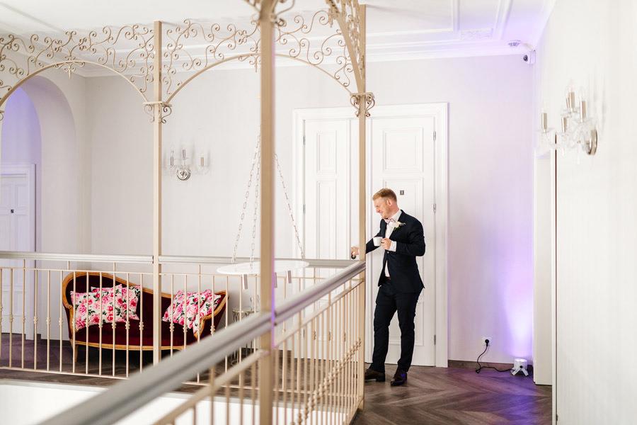 pałac rajkowo reportaż ślubny