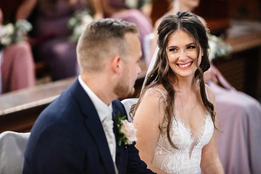 piękny ślub w kościele szczecin