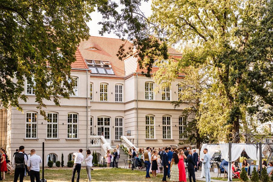 pałac rajkowo miejsce na eleganckie wesele szczecin