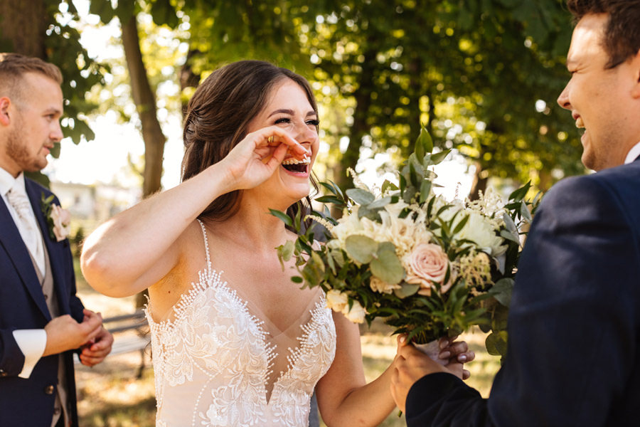 najpiękniejesze momenty w dniu ślubu reportaż ślubny