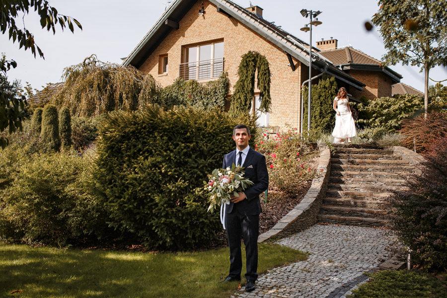 jesienny ślub w plenerze szczecin zdjęcia