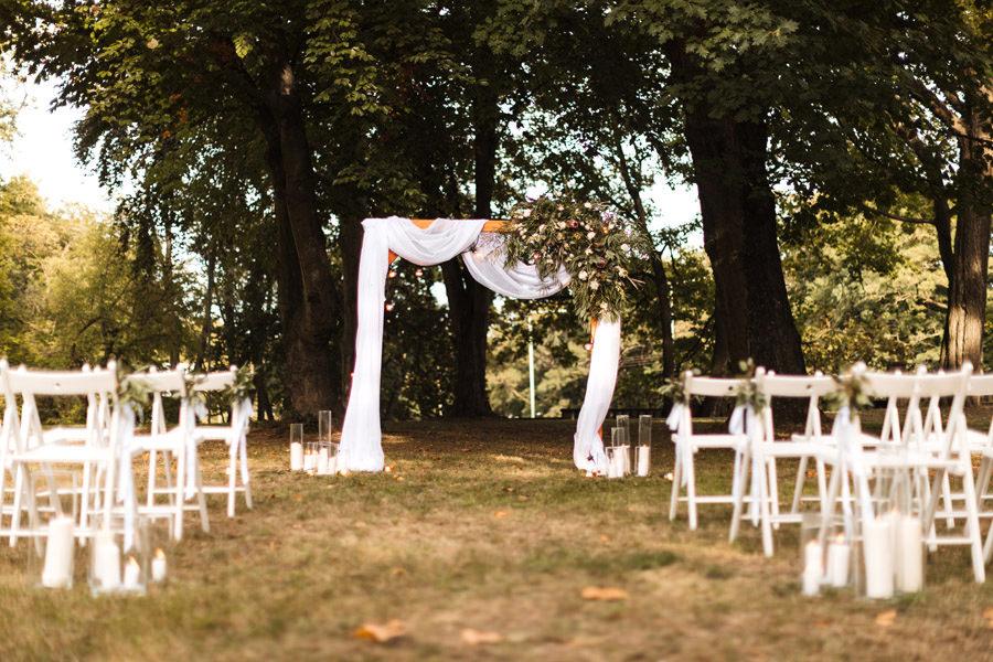 jesienny ślub plenerowy szczecin matejki 8