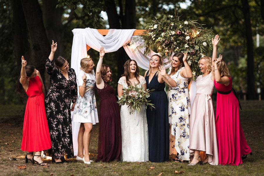 panna młoda i druhny wesele szczecin centrum