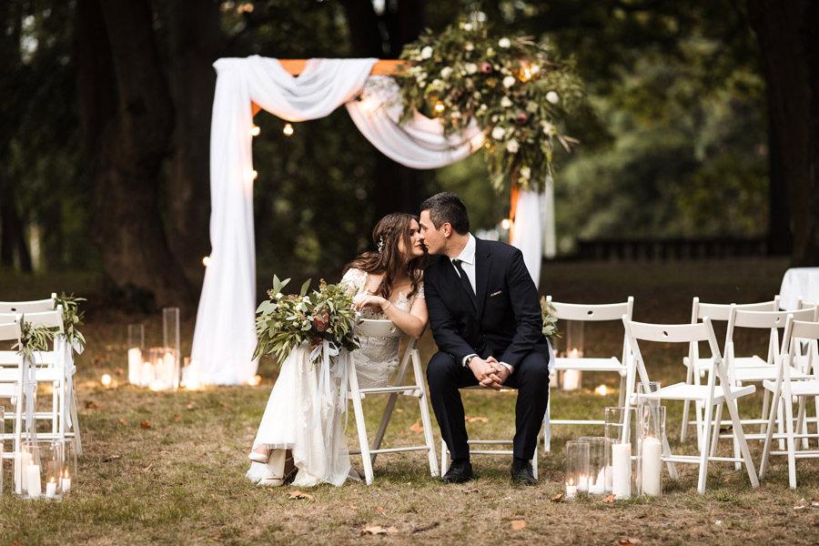 kameralny ślub w plenerze szczecin